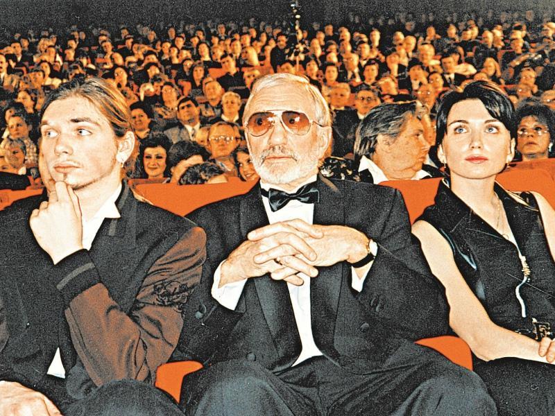 С сыном Иваном и дочерью Марией