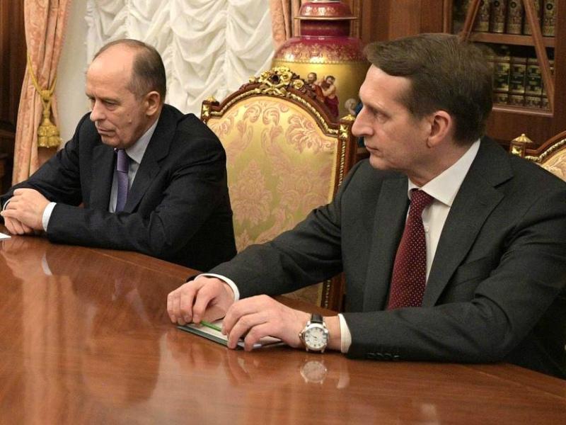Александр Бортников и Сергей Нарышкин // Фото: Global Look Press