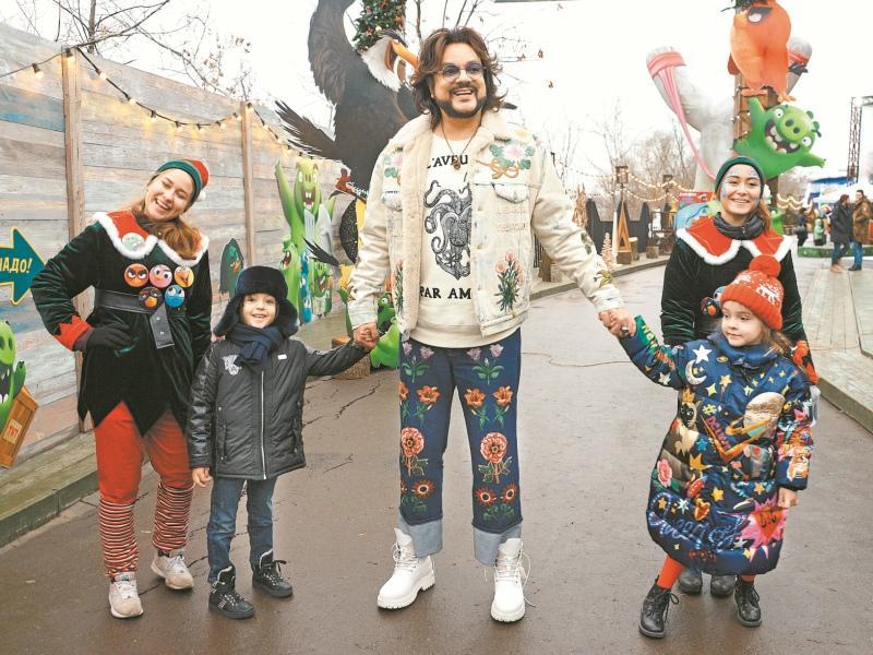 Филипп Киркоров с детьми // Фото: Global Look Press
