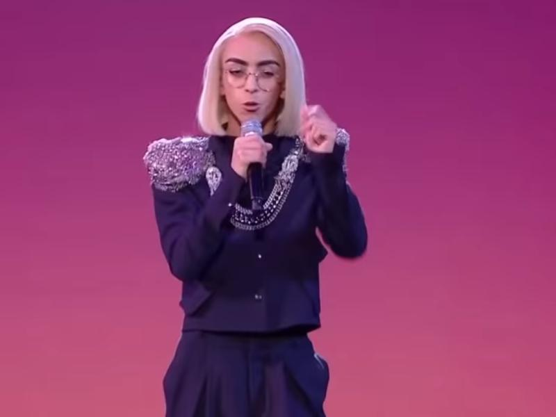 "Билал Ассани – представитель Франции на ""Евровидении-2019"" // стоп-кадр / Youtube"