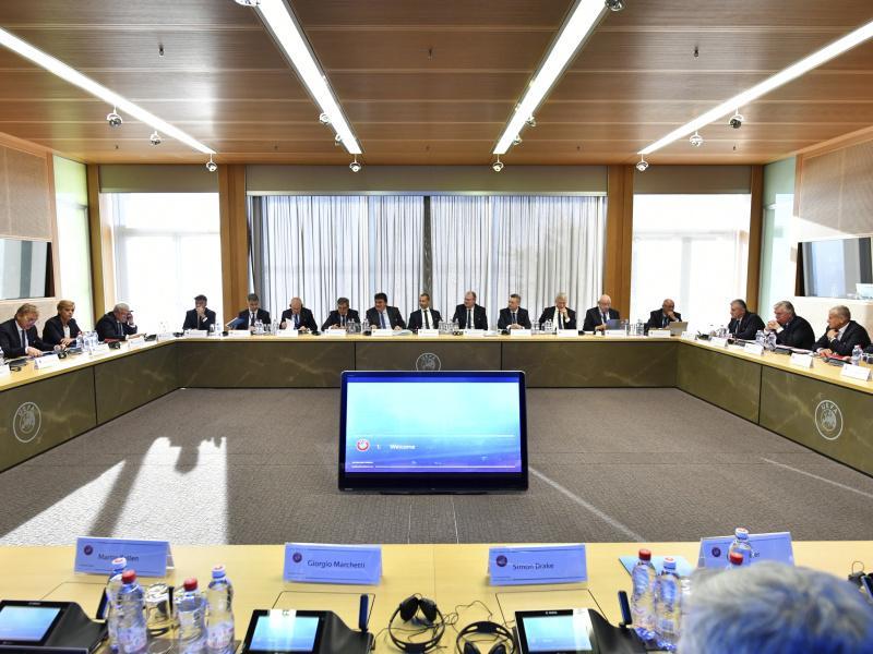 Заседание исполкома УЕФА в швейцарском Ньоне // фото: Harold Cunningham / dpa / Global Look Press