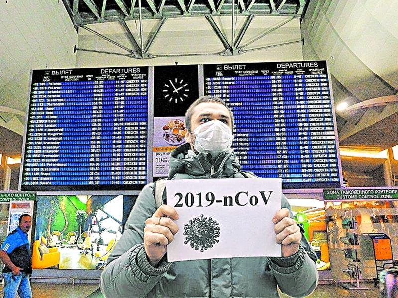 В России распространился вирус паники // коллаж: «Собеседник»