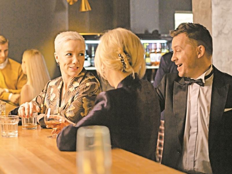 Кадр со съемок сериала «Содержанки-2»