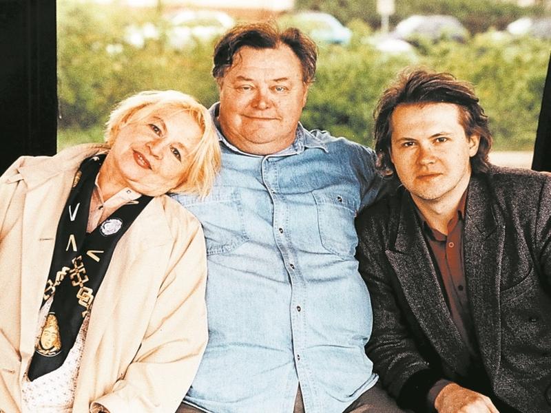 С женой и сыном Вячеславом // фото: личный архив Нины Гуляевой