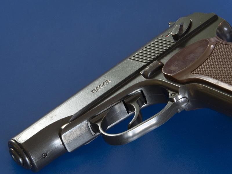 9-мм пистолет Макарова. У Свиридова был такой же наградной. Фото: Николай Гынгазов / Global Look Press