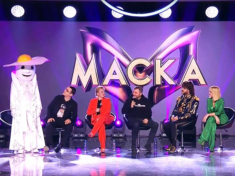 кадры из прямой трансляции шоу «Маска» / НТВ