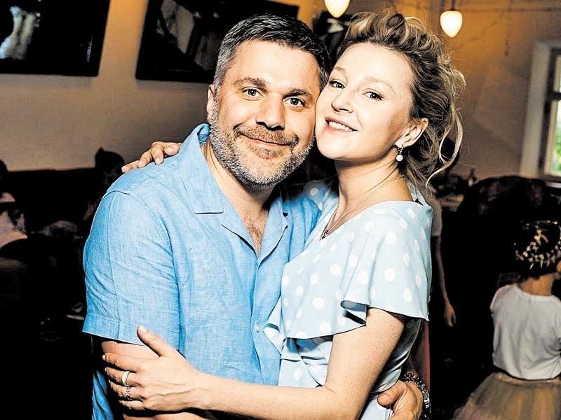 Джемал Тетруашвили с женой Ольгой Медынич // фото: соцсети