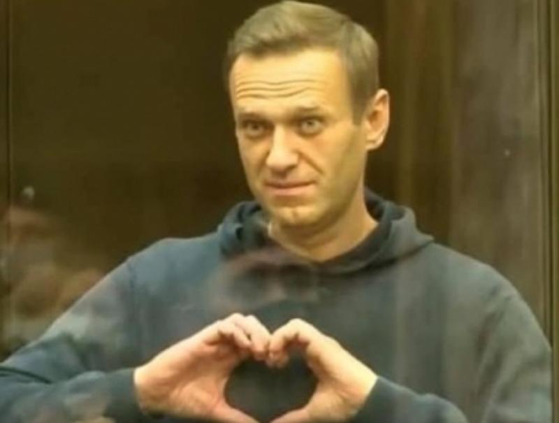 """Алексей Навальный // Скриншот, телеканал """"Дождь"""""""