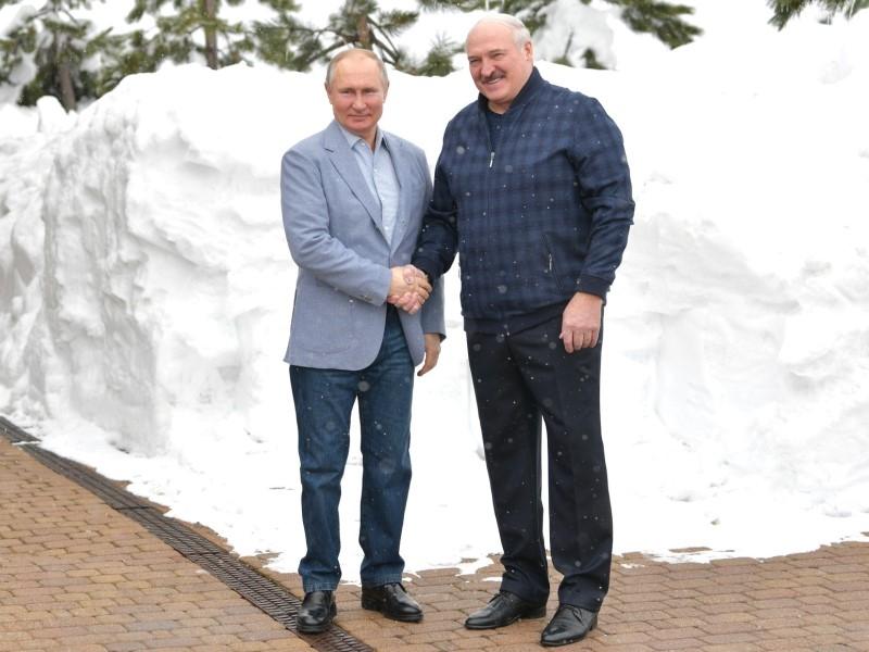 Владимир Путин и Александр Лукашенко // Фото: Global Look Press