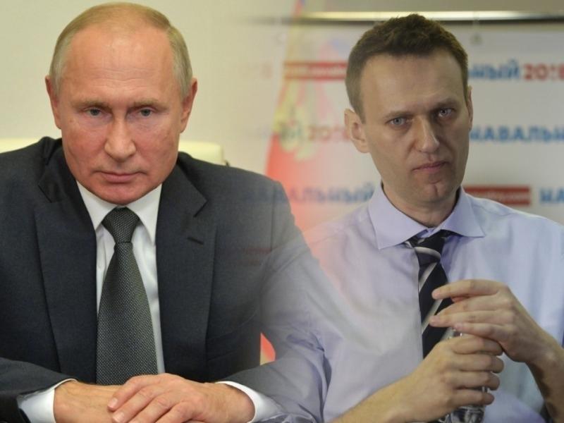 Владимир Путин и Алексей Навальный // Фото: Global Look Press