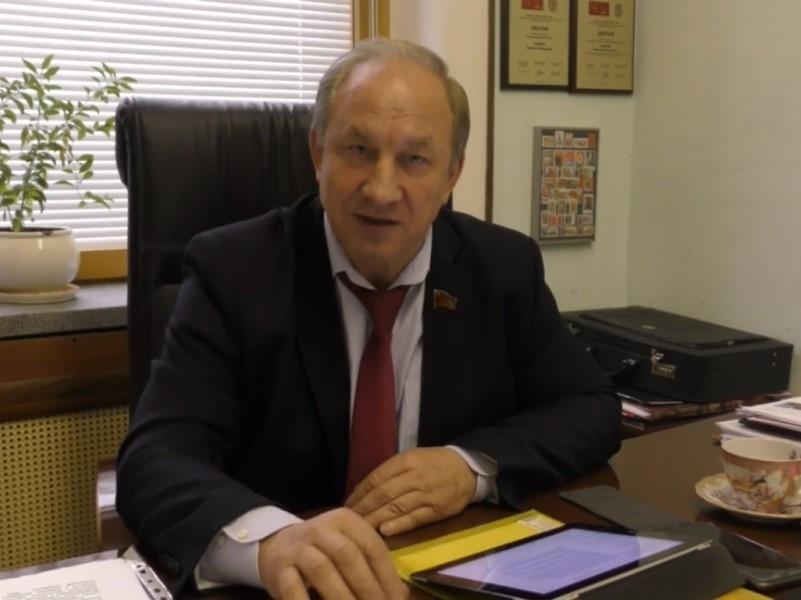 Валерий Рашкин // Скриншот с видео на YouTube