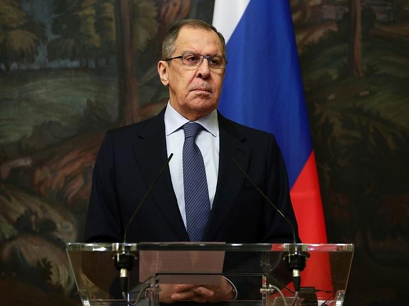 Сергею Лаврову остается лишь делать победный вид // фото: Global Look Press