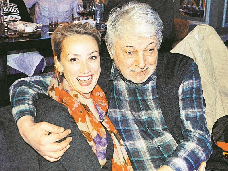 Вячеслав Добрынин с дочерью Екатериной // Фото: Альфия Камилова
