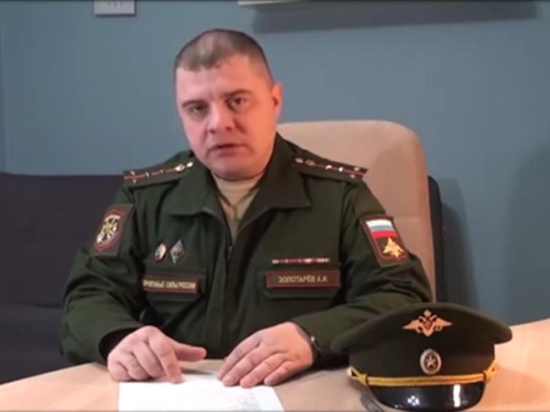 Стоп-кадр из видеообращения Алексея Золотарева к Владимиру Путину // Youtube