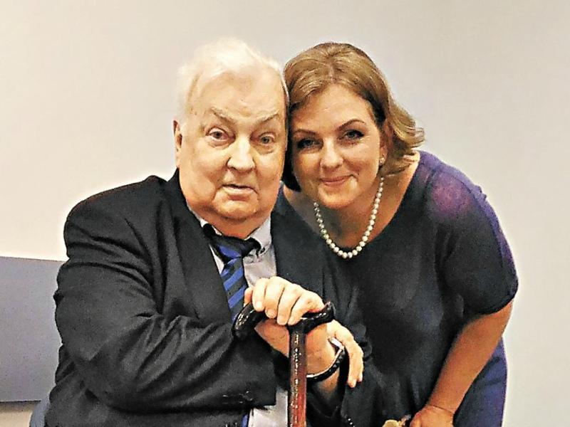Народный артист со своей дочерью Марией, родившейся во втором браке – с Ниной Буденной