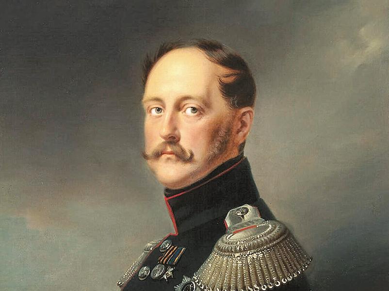 Франц Крюгер // Портрет Николая I