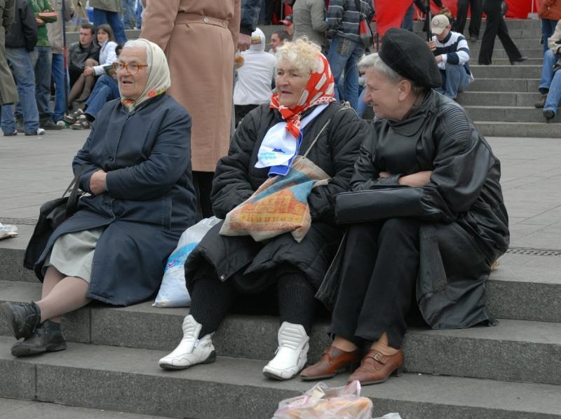 Пенсионеры // Фото: Global Look Press