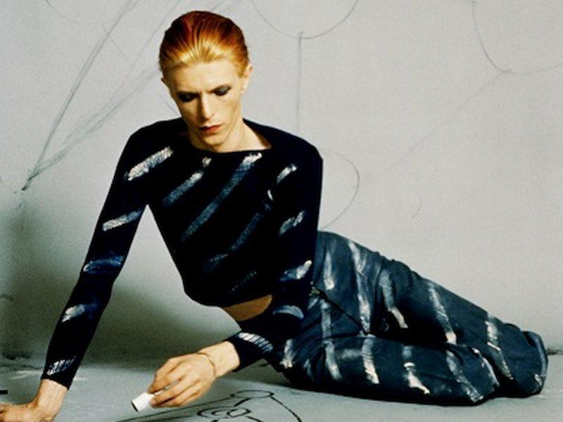 Дэвид Боуи в объективе Стива Шапиро  // Фото: lumiere.ru