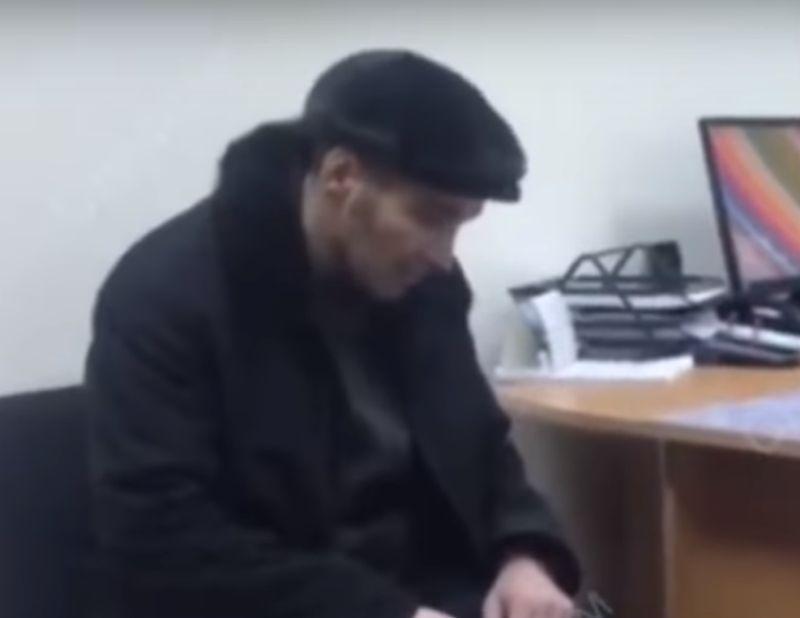 Павел Шаповалов на допросе // Кадр YouTube