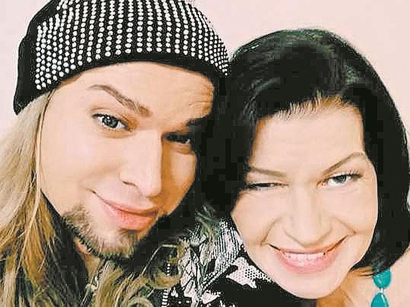 Гоген Солнцев с женой // фото: соцсети