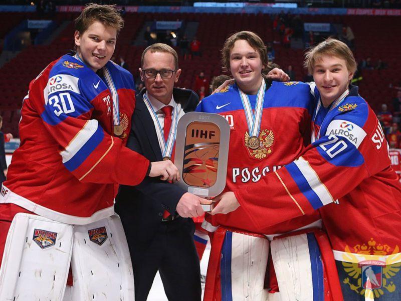 Владимир Куликов на чемпионате 2017 года // фото: сайт ФХР