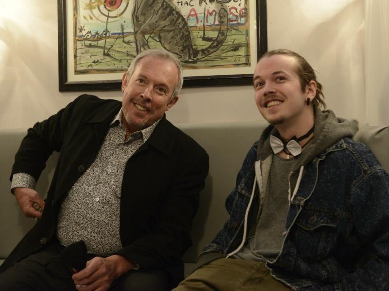 Андрей Макаревич и его сын, актер Иван Макаревич // фото: Komsomolskaya Pravda / Global Look Press