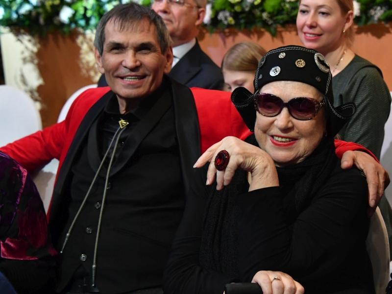 Бари Алибасов и Лидия Федосеева-Шукшина // фото: Komsomolskaya Pravda / Global Look Press