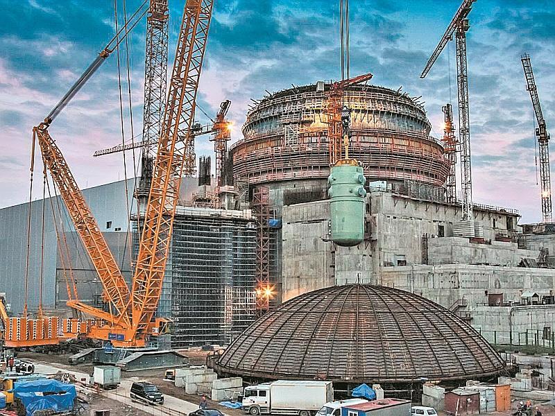 Строительство Ленинградской АЭС // фото: архив редакции