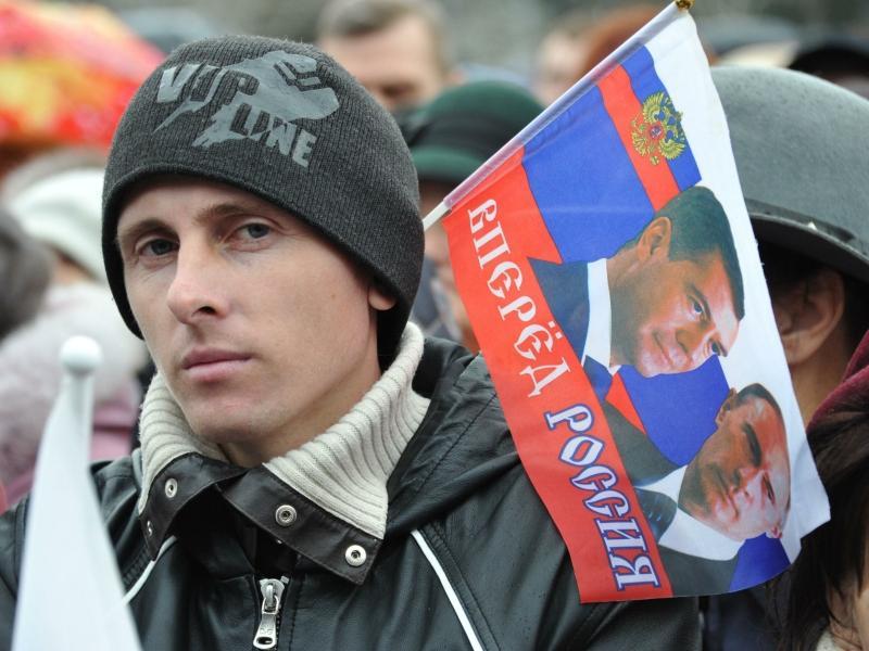 Митинг в Крыму, март 2014 года // фото: Pravda Komsomolskaya / Russian Look