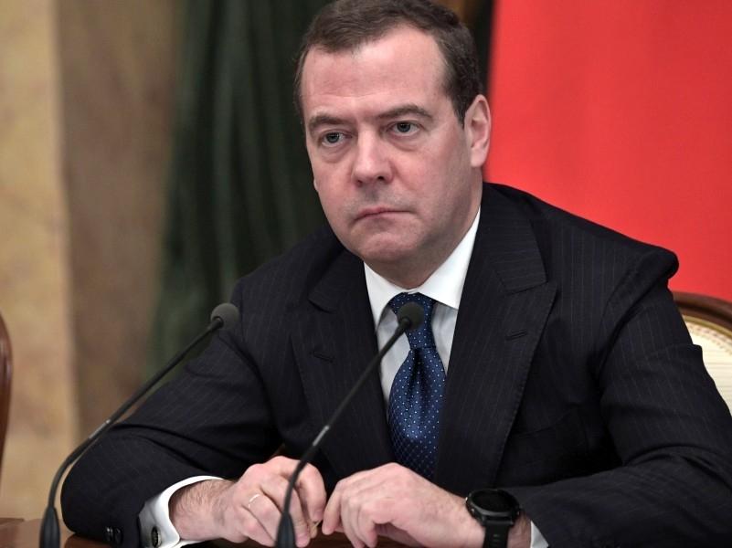 Дмитрий Медведев. Фото: Kremlin Pool / Global Look Press