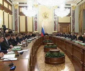 Вечер 21 января 2020 года, первое заседание нового Правительства РФ во главе с Михаилом Мишустиным (стоп-кадр / Россия 24 на Youtube)