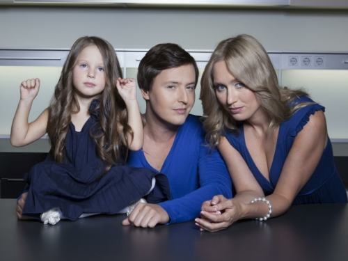 Витас с семьей // фото: Global Look Press