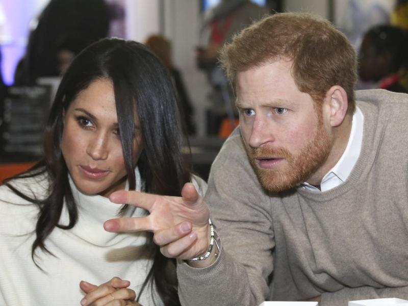 Принц Гарри и Меган // фото в статье: Global Look Press