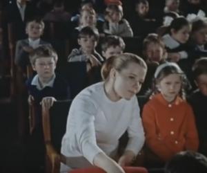 """Кадр из фильма """"Волшебная сила"""" (реж. Наум Бирман, 1970)"""