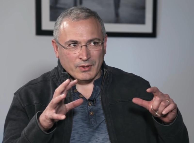 Михаил Ходорковский // Фото: скриншот YouTube