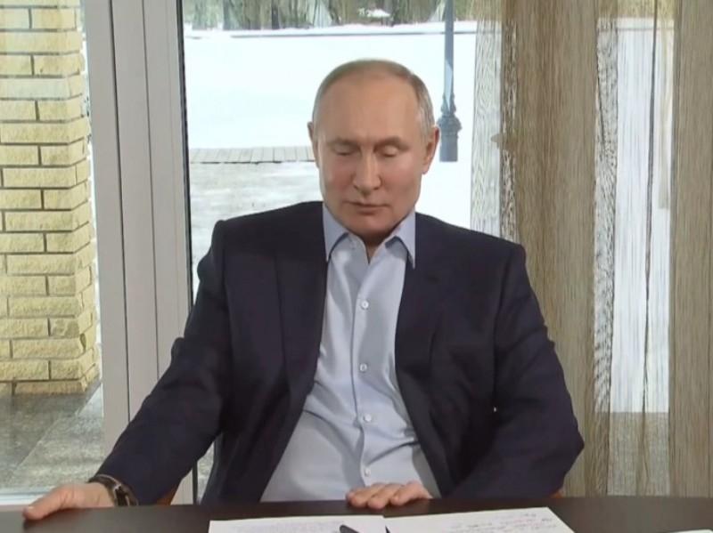 Владимир Путин // Фото в статье: скриншоты с видео