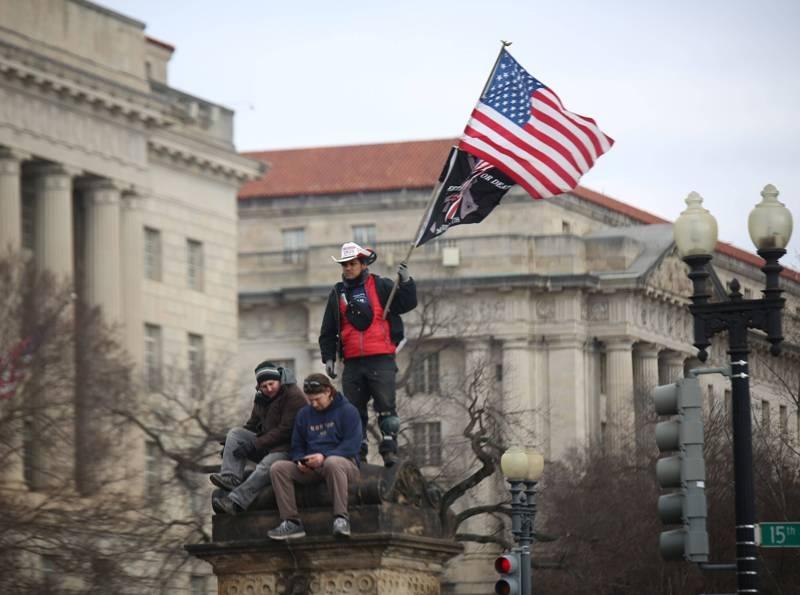 Протестующие американцы в Вашингтоне // Фото: Global Look Press
