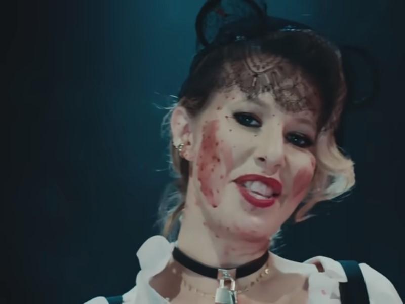 Ксения Собчак // Скриншот с видео на YouTube