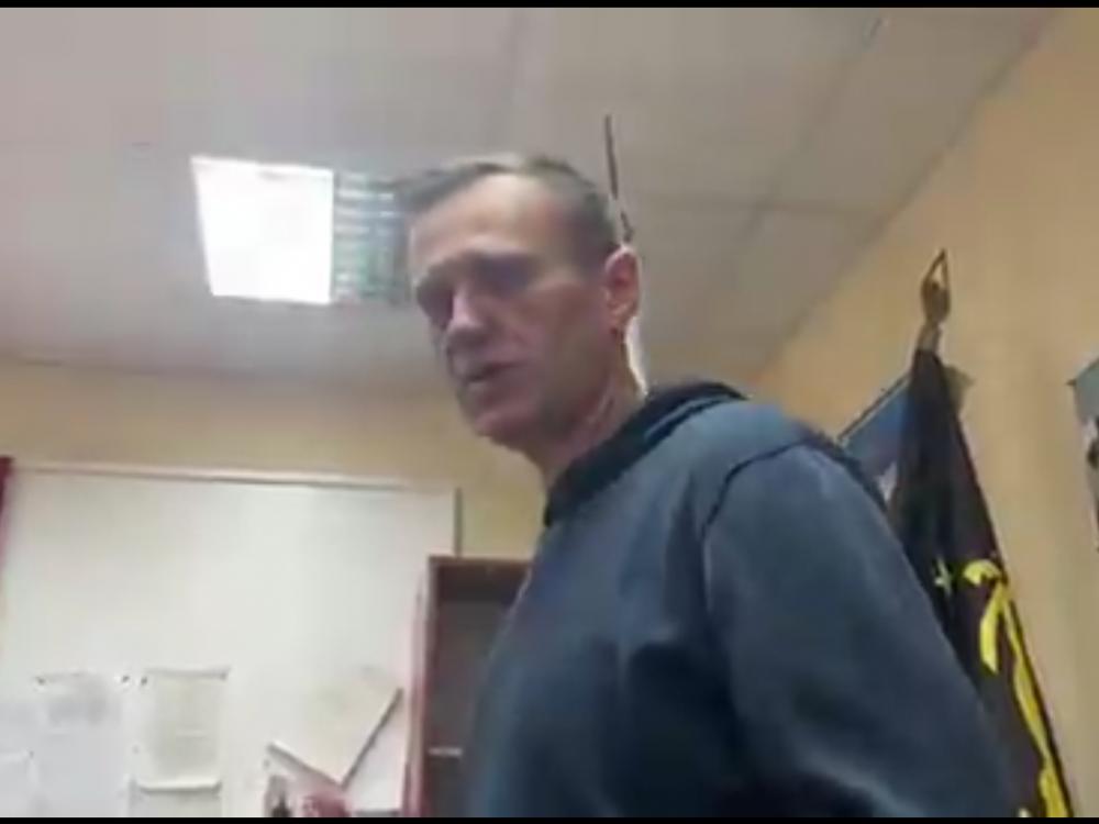Алексей Навальный // Скриншот из Twitter