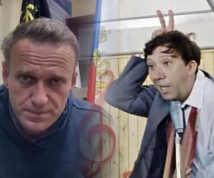 Алексей Навальный и Юрий Никулин // Скриншот из Youtube