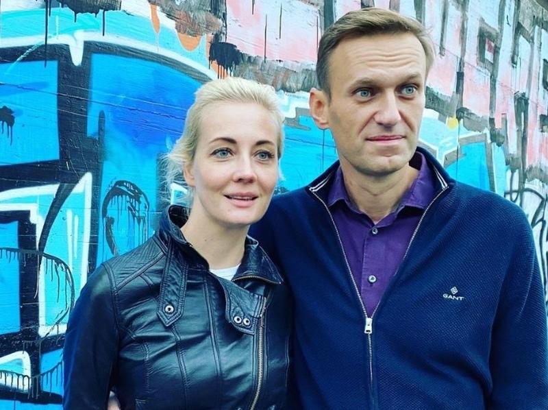 Юлия и Алексей Навальные // Фото: Instagram