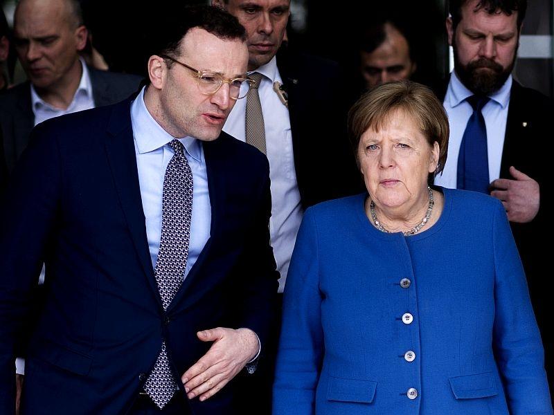 Шпан с Меркель // фото: Global Look Press