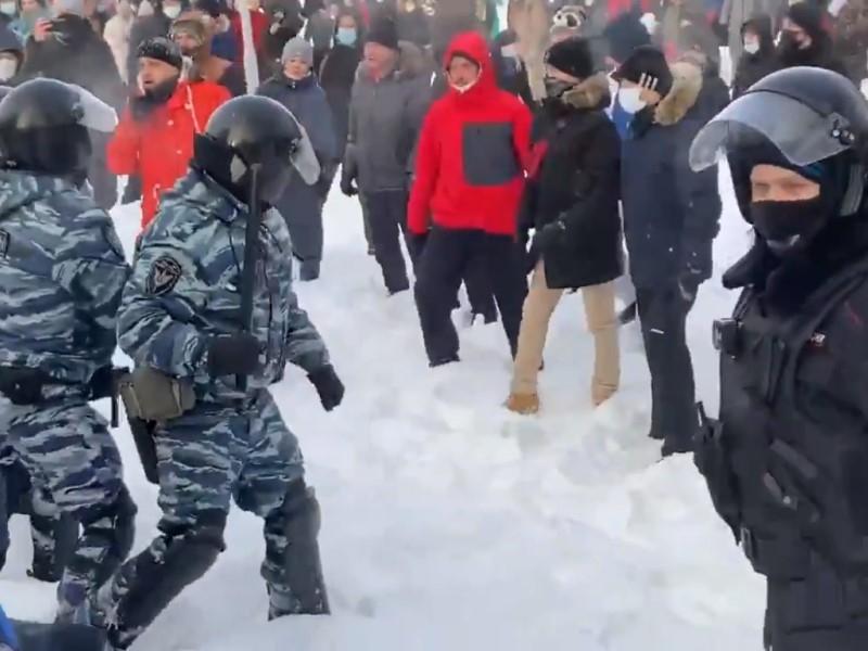 Екатеринбург // Скриншот с видео в Twitter, Instagram