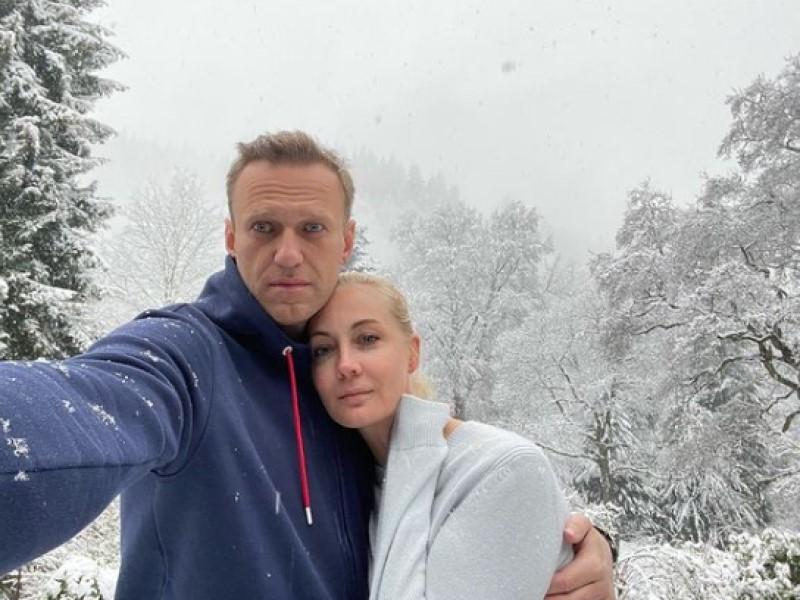 Алексей Навальный  и Юлия Навальная // Фото: Instagram