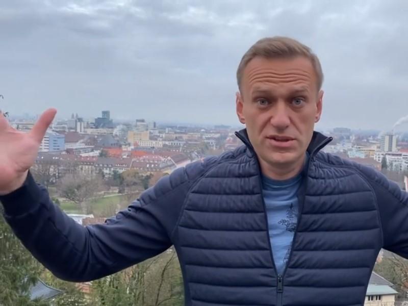 Алексей Навальный // Скриншот с видео в Instagram