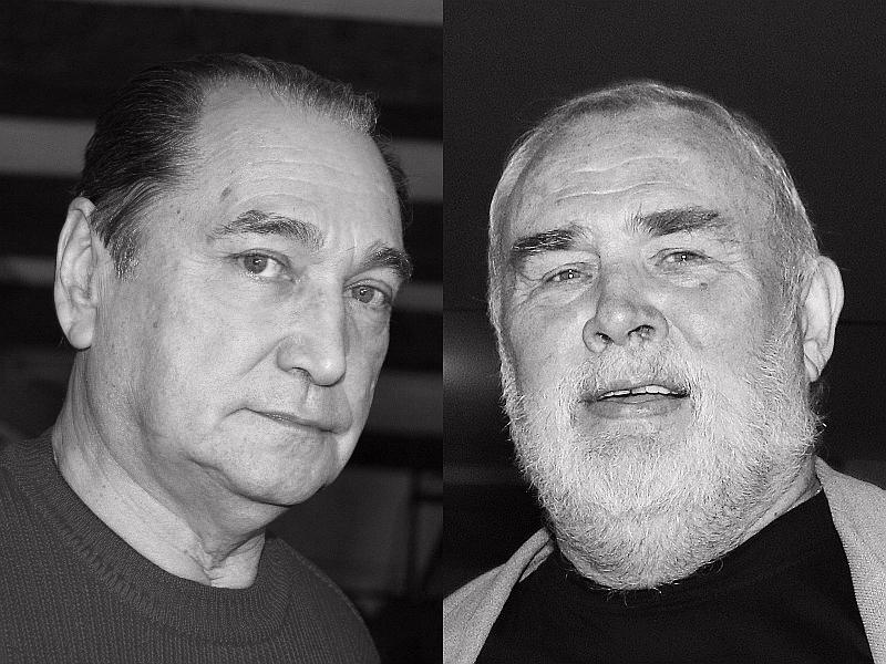 Владимир Коренев и Валерий Хлевинский // фото: Global Look Press; в статье: кадры из фильмов