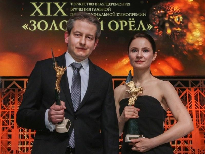 Режиссер Андрей Зайцев и актриса Ольга Озоллапиня
