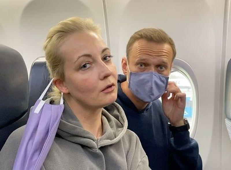 Алексей Навальный с женой Юлией // Фото в статье: Instagram, Global Look Press