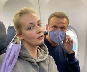 Алексей Навальный с женой //Фото: соцсети