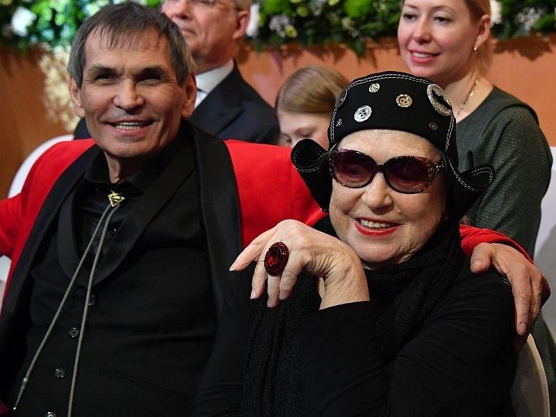 Бари Алибасов и Лидия Федосеева-Шукшина // фото: Global Look Press